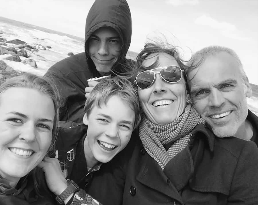 Carl Onghena en Familie