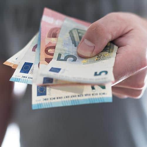 cash betaling