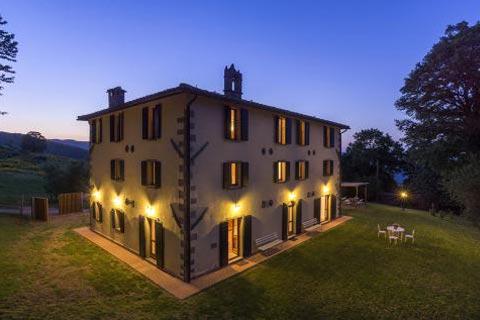 Roccone buitenverblijf Italië - Nacht